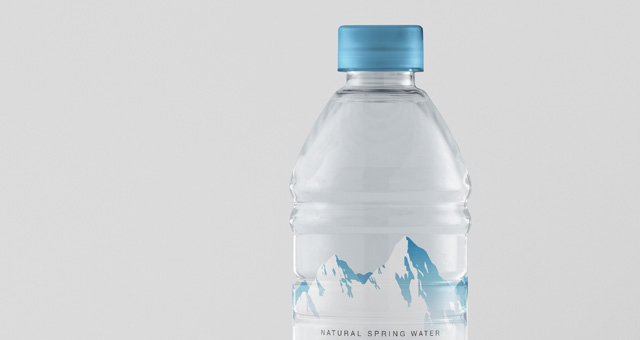 Psd Water Plastic Bottle Mockup | Psd Mock Up Templates