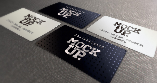 Business card mockup templates psd business card mockup vol6 psd mock up templates pixeden reheart Choice Image