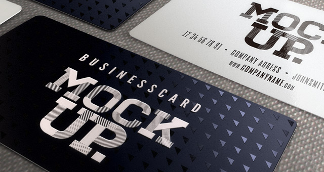 Business card mockup templates reheart Images