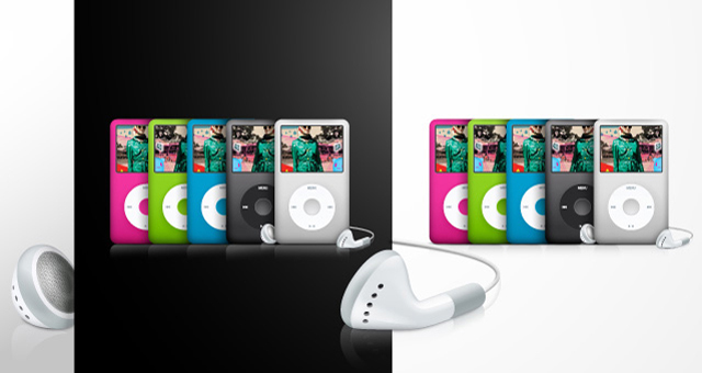 Apple-ipod vector
