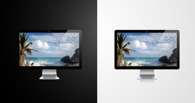Apple cinema display vector