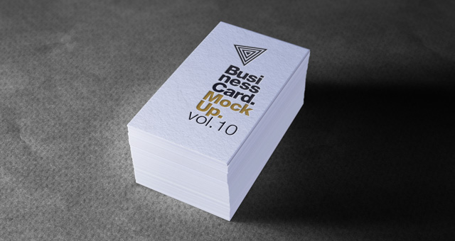 Psd Business Card Mock Up Vol10