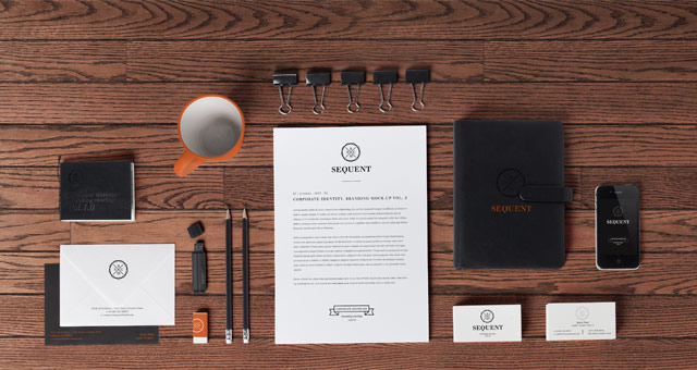 stationery branding mock up vol 2