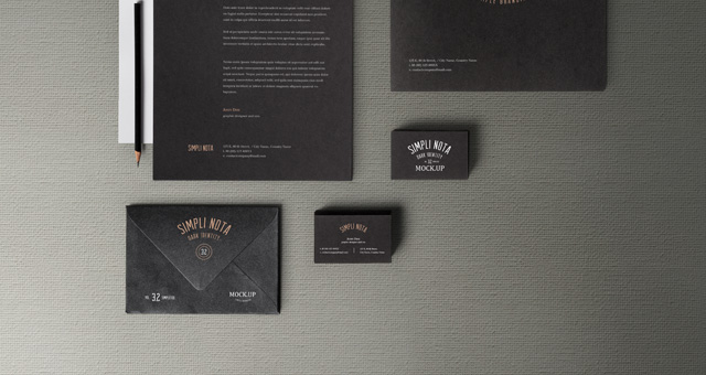 stationery branding mock up vol 3