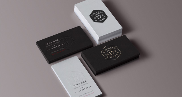 Business card mockup templates psd business card mock up vol17 psd mock up templates pixeden cheaphphosting Gallery