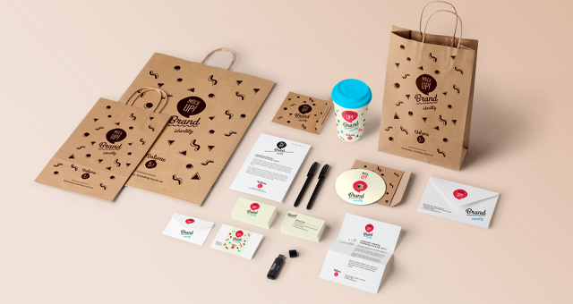 Stationery Branding Mock Up Vol 5 1 Psd Mock Up