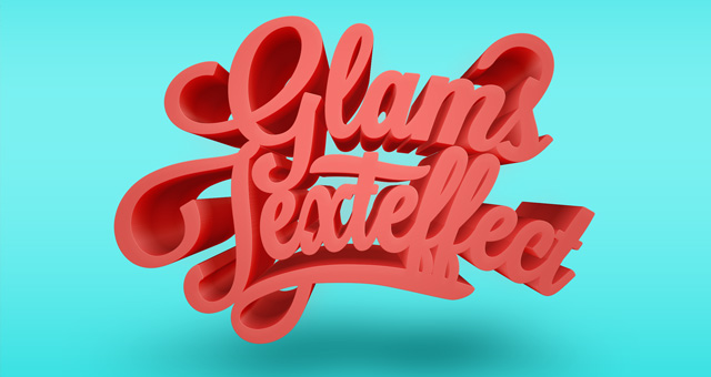 Others] P I X E D E N - Psd Glams Text Effect - PrintRoot Forums