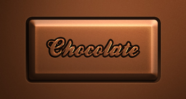 Psd Chocolate Text Effect 01