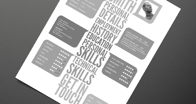 Creative Resume Template 04