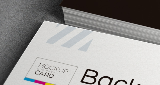 Psd Business Card Mock-Up Vol 2 - 3