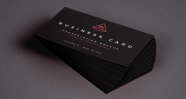 Psd Business Card Mock Up Vol26 Psd Mock Up Templates