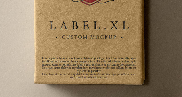 psd label brand mockup vol1