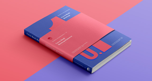 Psd Book Cover Isometric Psd Mock Up Templates Pixeden