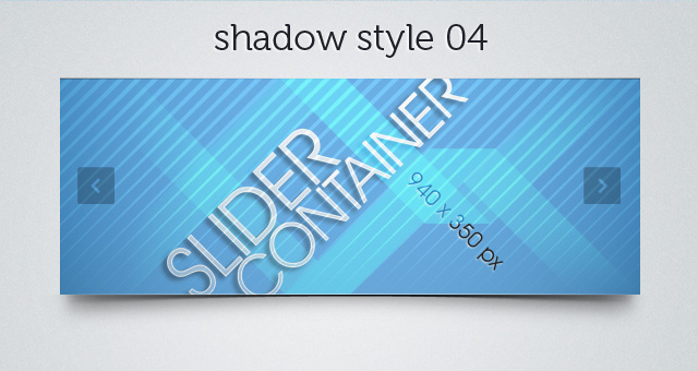 Web Slider Shadow 04