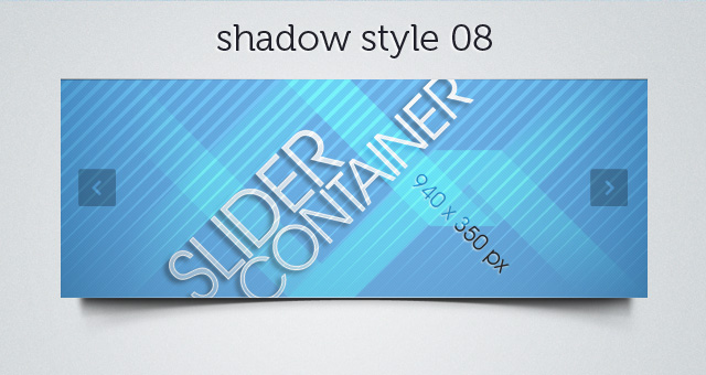Web Slider Shadow 08