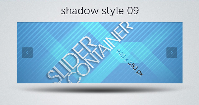 Web Slider Shadow 09