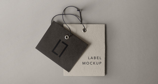 Psd Label Brand Mockup Vol6 Psd Mock Up Templates Pixeden