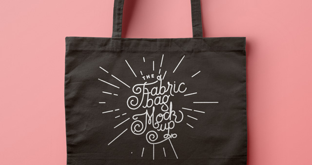 Psd Tote Bag Fabric Mockup Psd Mock Up Templates Pixeden