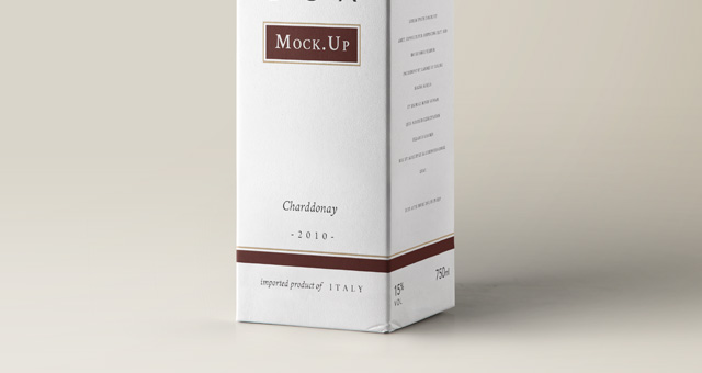 Psd Wine Box Packaging Mockup Psd Mock Up Templates