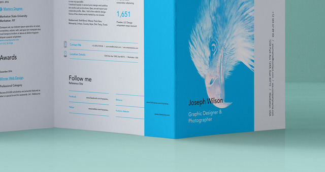 4 column brochure template - psd double gate fold brochure vol5 psd mock up templates