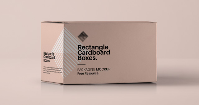 Rectangular Psd Box Mockup | Psd Mock Up Templates | Pixeden