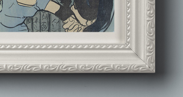 Ornamental Psd Frame Mockup | Psd Mock Up Templates | Pixeden