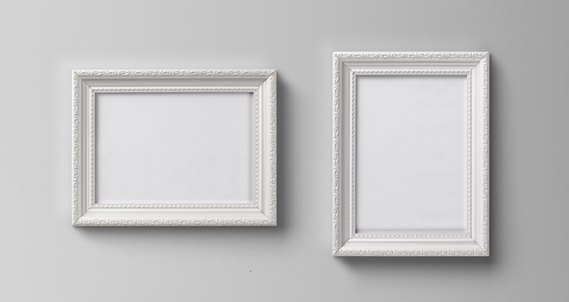 Ornamental Psd Frame Mockup Psd Mock Up Templates Pixeden