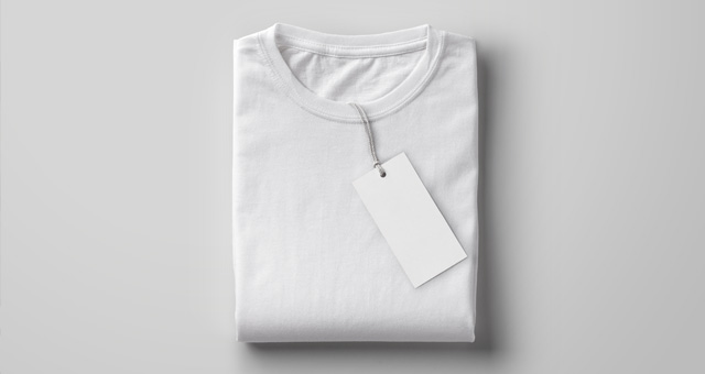 Folded Psd T-Shirt Mockup : Psd Mock Up Templates : Pixeden