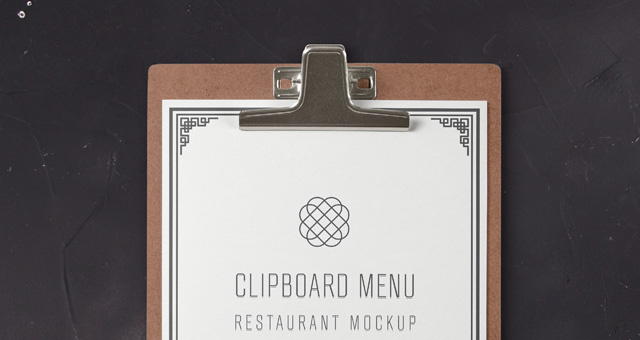 Psd Restaurant Menu Mockup Psd Mock Up Templates Pixeden