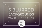 5 Blurred Backgrounds Vol2