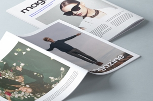 A4 Psd Magazine Booklet Mockup Vol2