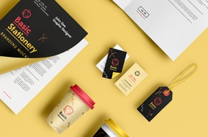 Basic Stationery Branding Vol 4