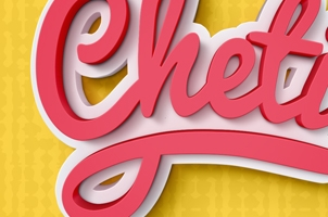 Cheti Psd Text Effect