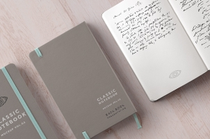 Classic Psd Notebook Mockup Vol3