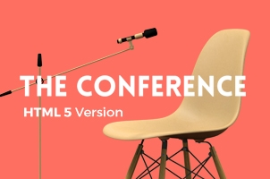 Conference HTML5 Book Landing Page