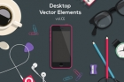 Desktop Flat Vector Objects Vol1