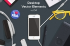 Desktop Flat Vector Objects Vol4
