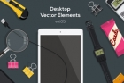 Desktop Flat Vector Objects Vol5