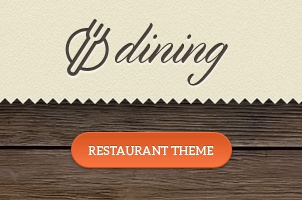 Dining Restaurant Psd Template