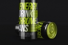 Energy Drink Psd Can Metal Mockup