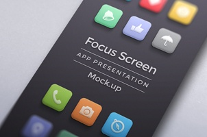 Focus App Screen Mock-Up