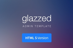 glazzed-html5-admin-template-M Template Admin Html Premium on editor css, food order form, terminal style, web application, login page, css bootstrap, css3 futuristic, 3d carousel, basic contact list, simple page,