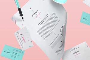 Gravity Stationery Branding Vol 5