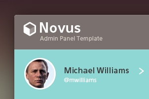 Novus Psd Admin Panel Template