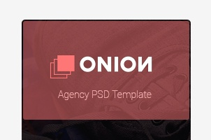 Onion Corporate Psd Template
