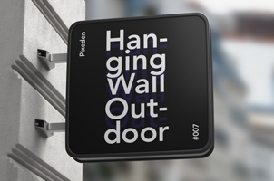 Outdoor Psd Wall Sign Mockup-2