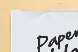 Paper Note Psd