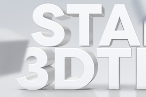 Psd 3D Text Effect