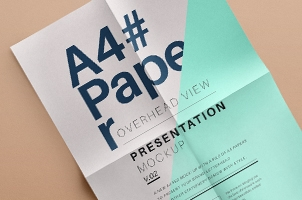 Psd A4 Overhead Paper Mock-Up Vol2
