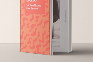 Psd A5 Hardcover Book Vol6